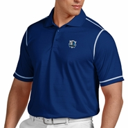 Dallas Mavericks Antigua Men's Icon Short Sleeve Polo Shirt - Blue