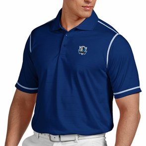 Dallas Mavericks Antigua Men's Icon Short Sleeve Polo Shirt - Blue - Click to enlarge