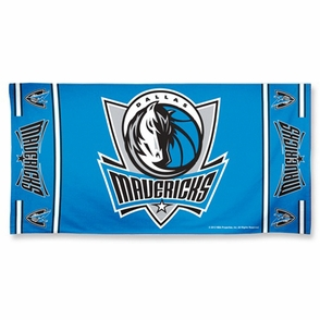 Dallas Mavericks WinCraft 30x60 Beach Towel - Blue - Click to enlarge