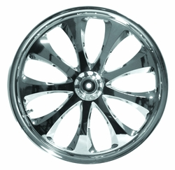 18�8.5 SUPER WD Lust Chrome(Dual Side Hub) - click to enlarge