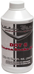 Power House Dot 5 Brake Fluid For All Models - 12 Oz. Bottle (355 Ml) - click to enlarge
