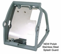 Splash Guard &chopper Polished Stainless Steel(Polishss) - click to enlarge
