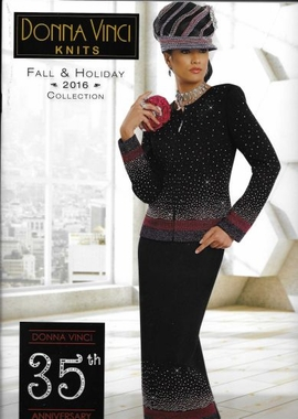 Donna Vinci Knit Fall & Holiday Collection 2016