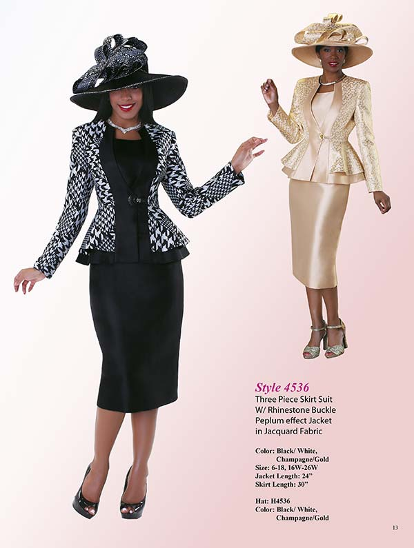 Tally Taylor Suit Collection TT-4536