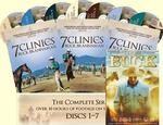 7 Clinics with Buck Brannaman Complete Set Vols 1-7  + FREE Bonus DVD