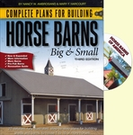 Complete Plans for Building Horse Barns + DVD