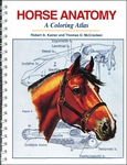 Horse Anatomy: A Coloring Atlas (Spiral-Bound Book)