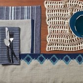 Coyuchi Spring Table Linens & More <font color=b2222>NEW</font>