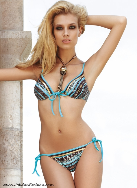 Fashion Diva Push Up Bathing Suit