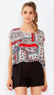 Aztec Art Top*