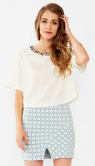Bejeweled Top*