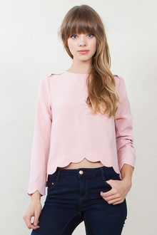 Blushing Rose Top*