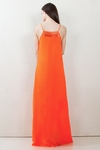 Channel Orange Maxi Dress