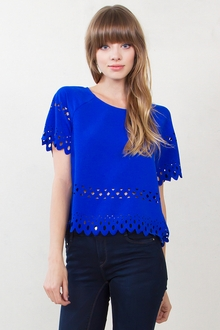Cobalt Cuts Top
