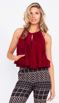 Cognac Lips Top