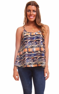 Fall Shades Tribal Tank