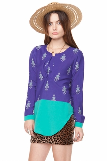 Jewel Iris Blouse
