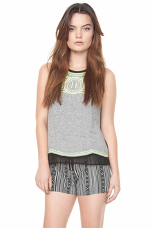 Kelly Emblem Top