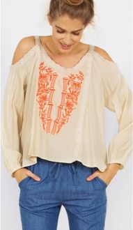 Maya Embroidered Top*
