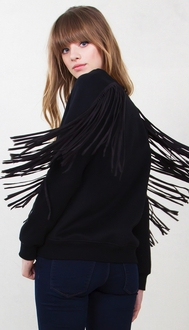 Midnight Cowboy Fringe Sweatshirt*