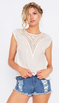 Mojave Embroidered Top*