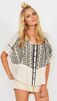 Padma Embroidered Top*