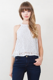 Penelope Lace Top*