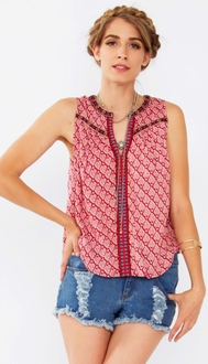 Ria Sleeveless Top*