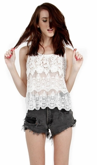 Romantic Tiers Top*