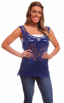 Royal Victorian Lace Top