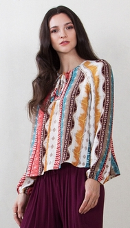 Rustic Gypsy Long Sleeve Top*