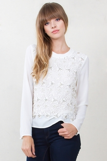 Shine On Embellished Top*