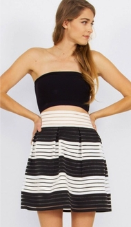 Show Your Stripes Skirt*