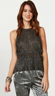 Silver Shimmer Top *