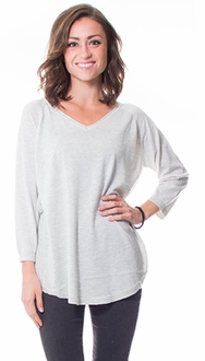 Super Model Knit V-Neck Sweater