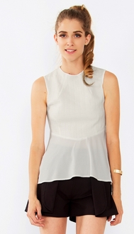 White Noise Sleeveless Top*