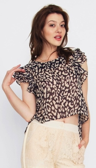 Wild Heart Flutter Top*
