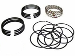 15) Ring set, piston .040 over size, L -134, 1945-53 Willys Jeep CJ-2A, CJ-3A