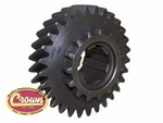 23) Mainshaft gear, 29 teeth, 6 spline, use with Dana Spicer 18 transfer case