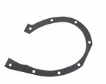 26) Gasket, engine timing cover, L -134, 1945-53 Willys Jeep CJ-2A, CJ-3A