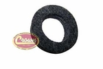 26) Oil seal, bearing retainer (4-134 engine), Jeep CJ-5, CJ-6 with T-86aa transmission