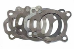 3) Shim set, rear output, use with Dana Spicer 18 transfer case