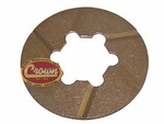 8) Thrust washer, rear countershaft (steel backed bronze), Jeep CJ-5, CJ-6 with T-86aa transmission
