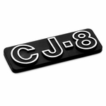 CJ8 Emblem for 1981-1985 Jeep CJ8, MOPAR Officially Licensed Product