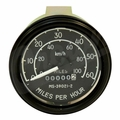 Complete speedometer assembly 0-60 mph fits 1945-68 CJ-2A, CJ-3A, CJ-3B