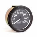 Complete speedometer assembly 0-70 mph fits 1945-58 CJ-2A, CJ-3A, CJ-3B