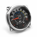 Complete speedometer cluster with gauges 5-85 mph, fits 1980-86 Jeep CJ
