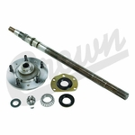 Drivers Side Axle Shaft Kit, fits 1976-83 Jeep CJ-5, 1976-81 CJ-7 with AMC 20 Rear Axle