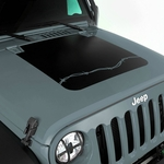Hood Decal, Barbed Wire, for 2007-17 Jeep Wrangler JK