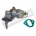 New fuel pump, fits 1945-71 Jeep 4 cyl-134 w/o vacuum wipers, glass bowl